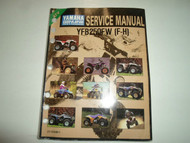 1994 Yamaha YFB250FWF Service Repair Manual FACTORY OEM BOOK 94 WATER DAMAGED