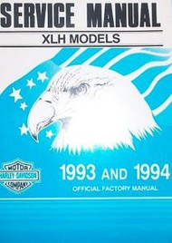 1994 Harley Davidson XLH Models Service Repair Shop Manual Factory OEM Brand New
