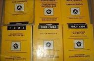 1994 DODGE RAM VAN WAGON Service Repair Shop Manual Set FACTORY OEM DEALERSHIP