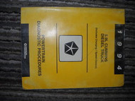 1994 Dodge Mopar Cummins Diesel Powertrain Service Manual 94 OEM Factory Book