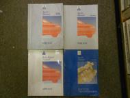 1993 MITSUBISHI Mirage Service Repair Shop Manual 4 Volume SET OEM BOOK 93 x