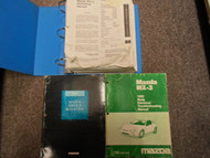 1993 Mazda MX-3 MX3 Service Repair Shop Manual SET FACTORY DEALERSHIP BOOKS X