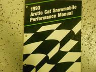 1993 Arctic Cat Snowmobile Performance Service Repair Shop Manual x