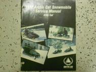 1992 ARCTIC CAT Kitty Cat Service Repair Shop Manual FACTORY OEM DEALERSHIP