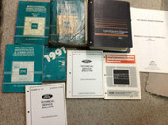 1991 Ford F-150 250 F250 350 Bronco Truck Service Shop Repair Manual Set W TONS