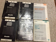 1991 DODGE STEALTH Service Repair Shop Workshop Manual Set OEM W LOTS Factory