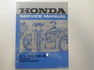 1991 1992 1993 Honda CB750 NIGHTHAWK Service Repair Shop Factory Manual OEM NEW