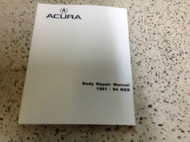 1991 1992 1993 1994 Acura NSX BODY Service Shop Repair Manual FACTORY ACURA NEW