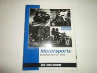 1990s 00s Yamaha Motorsports Essential Service Tools Manual FACTORY DEALERSHIP