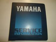 1990 Yamaha XVZ13DA XVZ13DAC Supplementary Service Manual WATER DAMAGED OEM 90