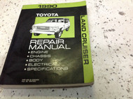 1990 TOYOTA LAND CRUISER Service Shop Repair Workshop Manual OEM Book 1990