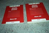 1990 DODGE RAM 50 TRUCK Service Repair Shop Manual Set 90 Factory OEM Book