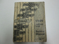 1989 GM Chevy Astro Van Service Repair Shop Manual OEM 89 Factory Book USED WEAR
