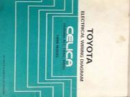 1988 TOYOTA CELICA Electrical Wiring Diagram EWD Service Shop Repair Manual 88 x