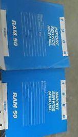 1988 Dodge Ram TRUCK 50 RAM50 Service Repair Shop Manual Set OEM 2 VOLUME BOOKS