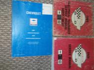 1988 Chevrolet Chevy Corvette Service Repair Shop Manual Set FACTORY OEM BOOKS