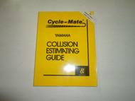 1987 Yamaha Cycle Mate Collision Estimating Guide Manual WINTER VOL. 6 NO. 2 OEM