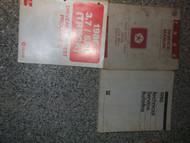 1986 Dodge Ramcharger TRUCK DW 150 250 350 Service Shop Repair Manual SET OEM
