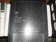 1986 Cadillac DEVILLE FLEETWOOD Repair Service Shop Manual Final Edition FACTORY