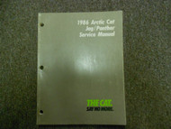 1986 Arctic Cat Jag Panther Service Repair Shop Manual FACTORY OEM BOOK 86 X