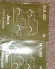 1984 1985 1986 JEEP CJ-7 CJ7 CJ SCRAMBLER Service Shop Repair Manual SET W BODY