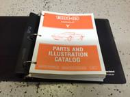 1984 1985 1986 1987 1988 1989 Corvette Parts & Illustration Manual Catalog OEM x