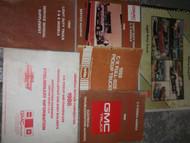 1988 GMC C/K MODELS CK TRUCK TRUCKS Service Shop Workshop Manual Set OEM EWD