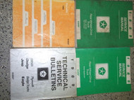 1989 Dodge Ramcharger DW 150 250 350 Truck Repair Shop Service Manual SET W LOTS