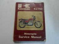 1979 1980 Kawasaki KZ750 Motorcycle Service Repair Shop Workshop Manual x