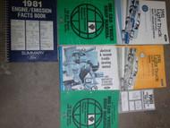 1981 Ford F-150 250 350 Bronco Truck Service Shop Repair Manual Set OEM Factory