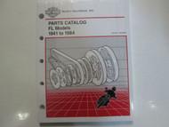 1981 1982 1983 1984 Harley Davidson FL Parts Catalog Manual Factory Book OEM