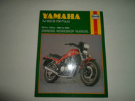 1980 1984 Haynes Yamaha XJ 650 750 Fours 653cc-748cc Owners Workshop Manual