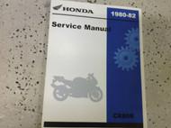 1980 1981 1982 HONDA CR80R CR 80R Service Shop Repair Manual FACTORY NEW