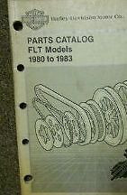 1980 1981 1982 1983 Harley Davidson FLT Models Parts Catalog Manual NEW Book