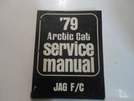 1979 Arctic Cat Jag F/C F C Service Repair Shop Manual FACTORY OEM 79 DEAL WORN