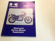 1979 1980 KAWASAKI KZ400 H1 LTD KZ400-H1 Service Repair Shop Manual SUPPLEMENT