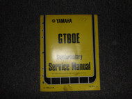 1978 Yamaha GT80E Service Repair Shop Supplementary Manual OEM FACTORY