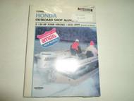 1976-1999 Clymer HONDA 2-130 HP 4 STROKE Service Shop Manual B757 Boat OEM