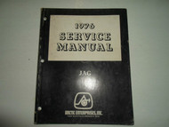1976 Arctic Cat Jag Service Repair Shop Manual FACTORY OEM BOOK 76 DEALERSHIP x