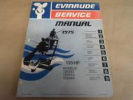 1975 Evinrude Service Shop Repair Manual 135 HP 135583 135543 135589 OEM Boat x