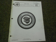 1975 Arctic Cat Lynx Illustrated Service Parts Catalog Manual FACTORY OEM
