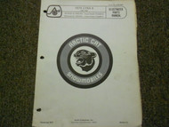 1974 Arctic Cat Lynx II Illustrated Service Parts Catalog Manual FACTORY OEM