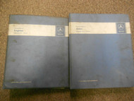 1973 1975 MERCEDES S CLASS Engines Axles Service Repair Shop Manual SET DEAL
