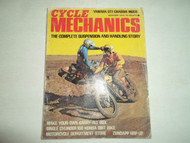 1972 Yamaha DTI CHassis Mods Cycle Mechanics Magazine WATER DAMAGED