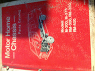 1969 1970 1971 1972 1973 Dodge Motorhome Chassis Parts Catalog Manual