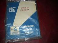 1967 AMC Rambler American Service Shop Repair Workshop Manual OEM 1967 Book