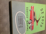 1958 Desoto Fireflite Firedome Firesweep Workshop Service Shop Repair Manual