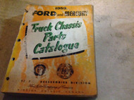 1953 FORD & MERCURY TRUCK Parts Catalog Catalogue Manual OEM BOOK FADED COVER