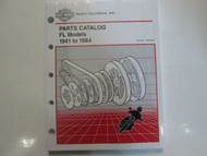 1949 1950 1951 1952 1953 1954 1955 1956 Harley Davidson FL Parts Catalog Manual