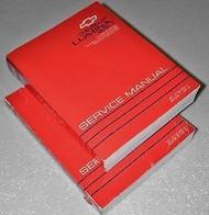 1993 Chevrolet Lumina APV Repair Service Manual Set DEALERSHIP OEM BOOKS
